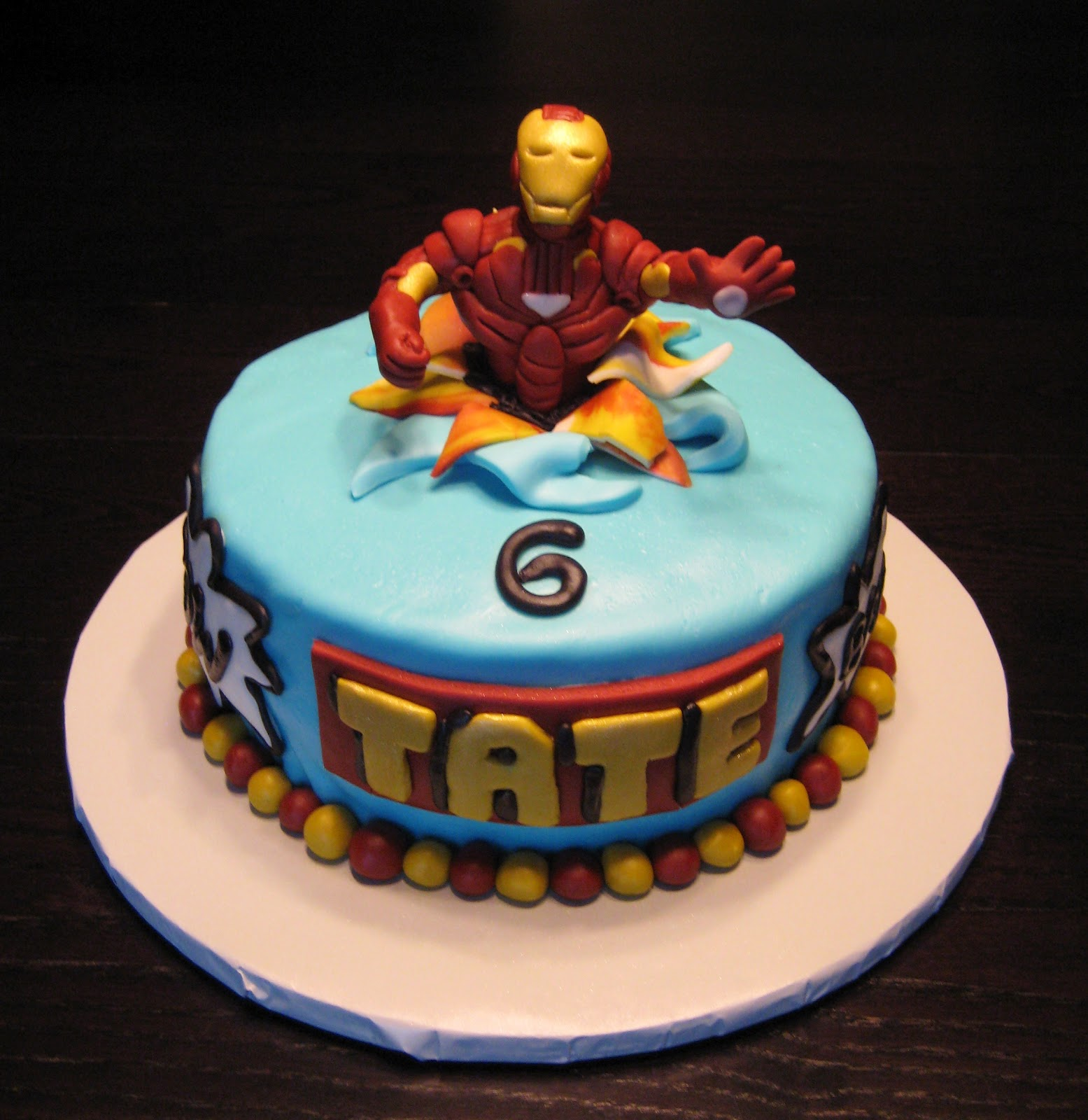 Images Of A Birthday Cake For A Man : Iron Man Cakes   Decoration Ideas Little Birthday Cakes