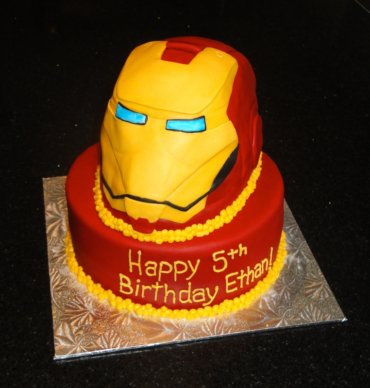 Iron Man Cakes Images