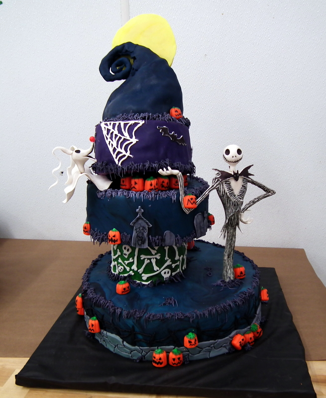 Jack Skellington Birthday Cakes