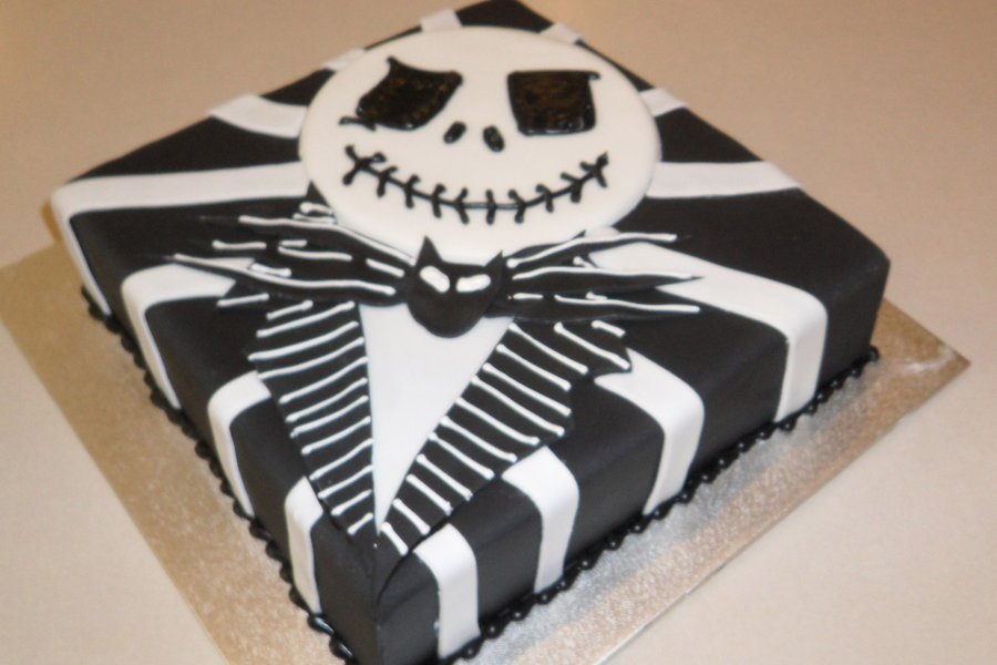 Jack Skellington Cake Designs