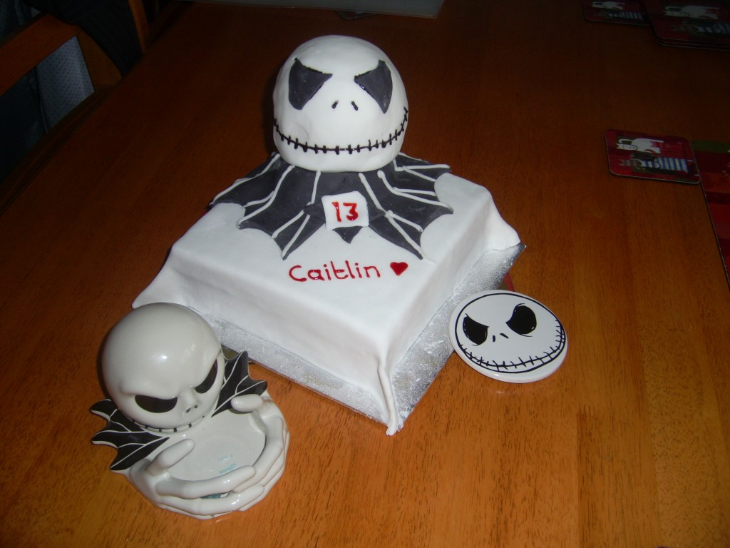Jack Skellington Cake Images