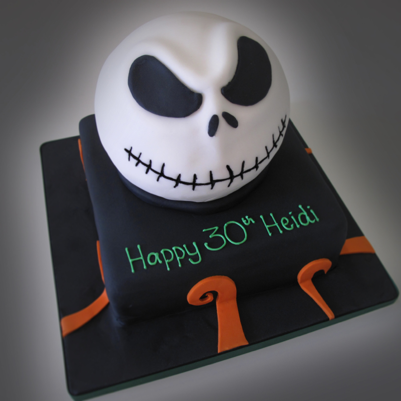 Jack Skellington Cake Photos