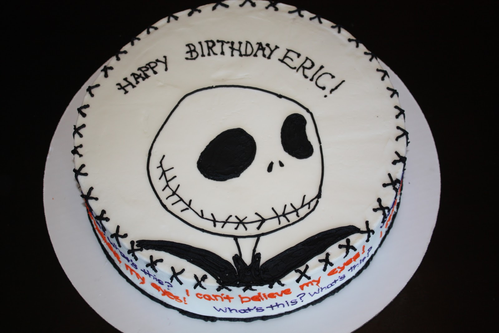Jack Skellington Cakes – Decoration Ideas | Little Birthday Cakes