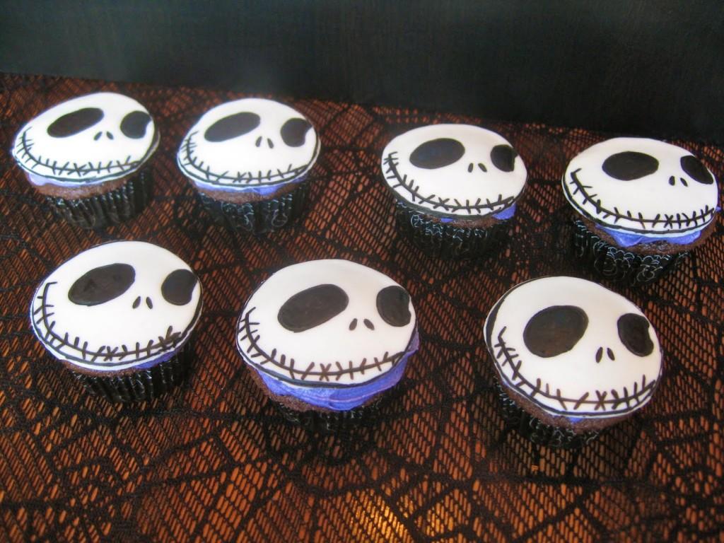 Jack Skellington Cupcake Cake
