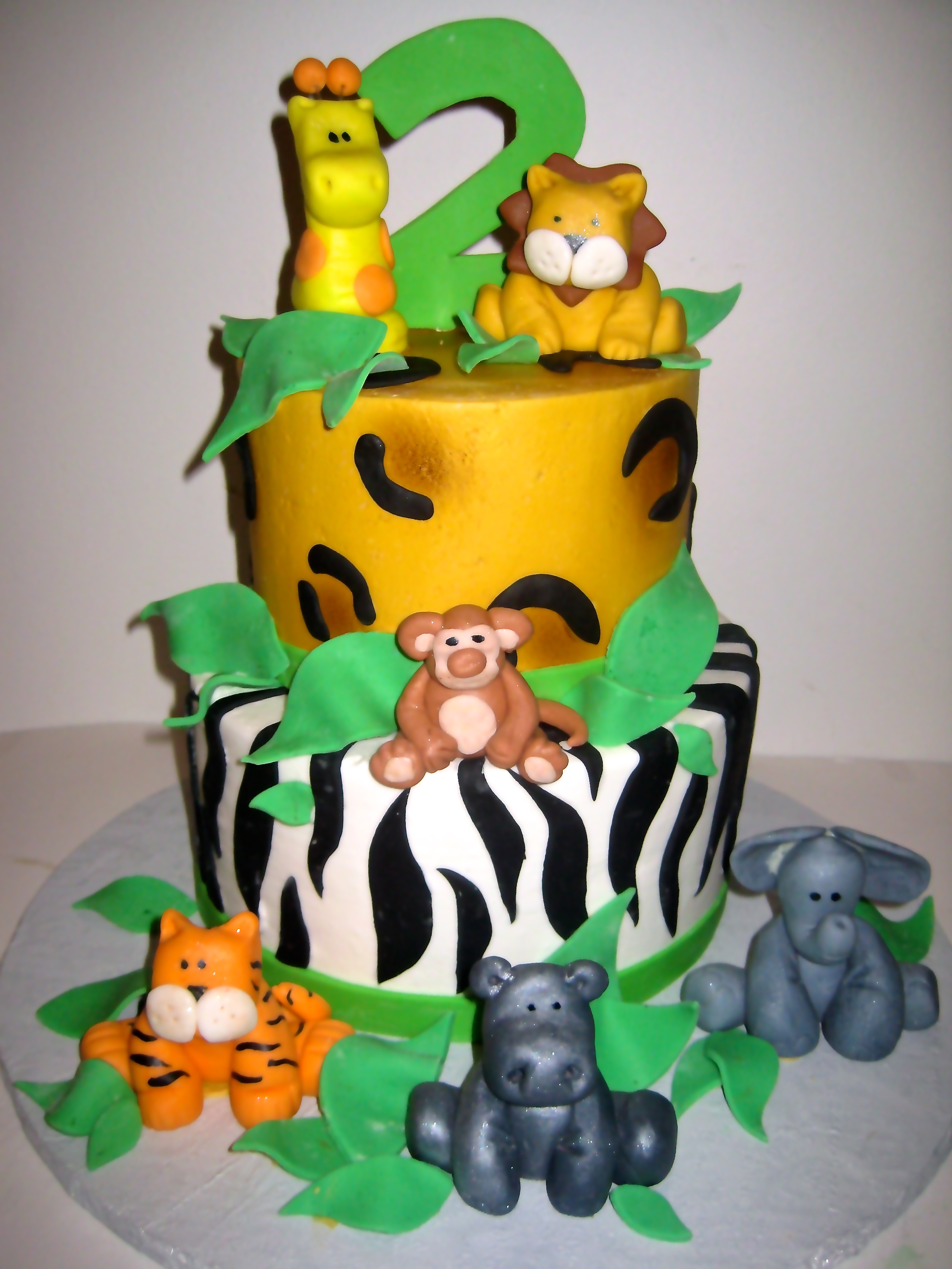 Jungle Cakes Decoration Ideas
