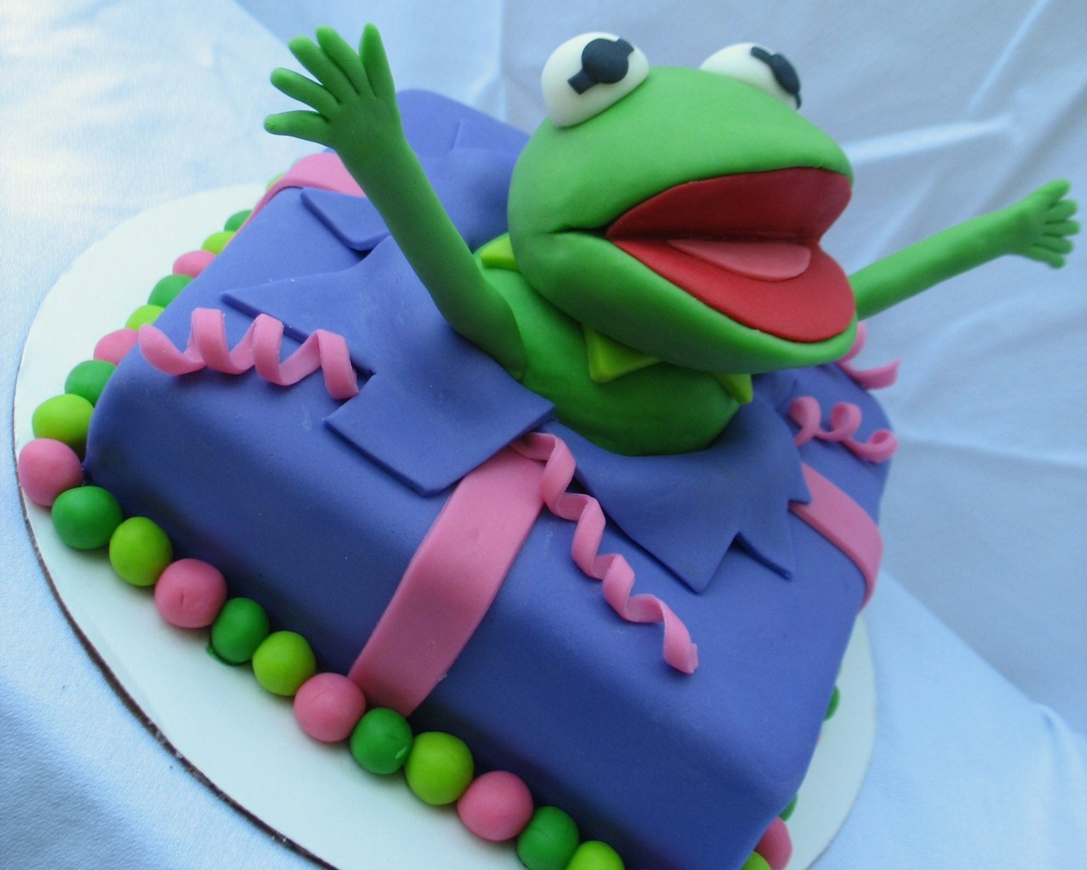How To Make A Frog Cake Out Of Cupcakes