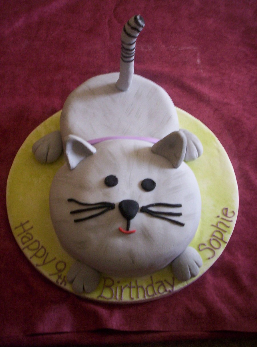Birthday Cake Images Cats