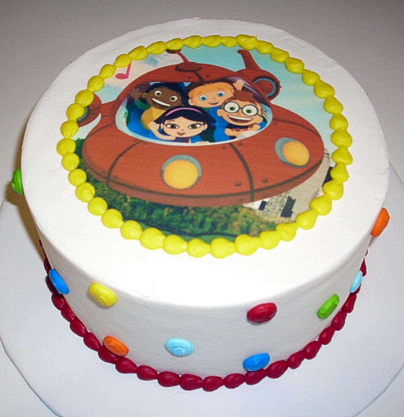 Einstein Birthday Cake