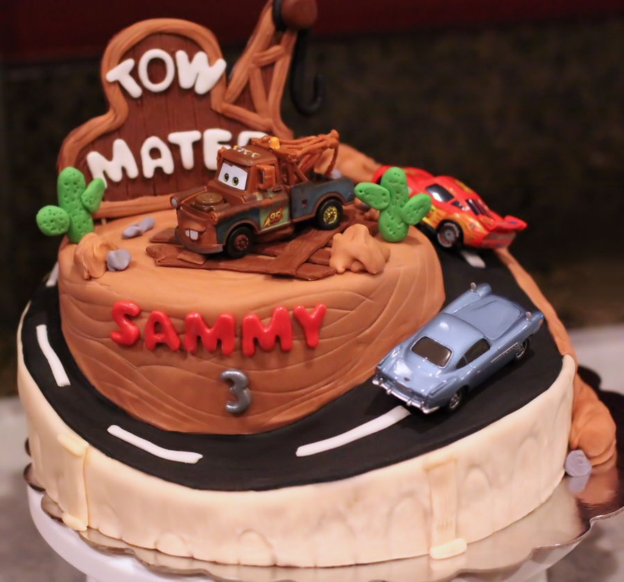 Birthday Cake Designs For Kids Cars