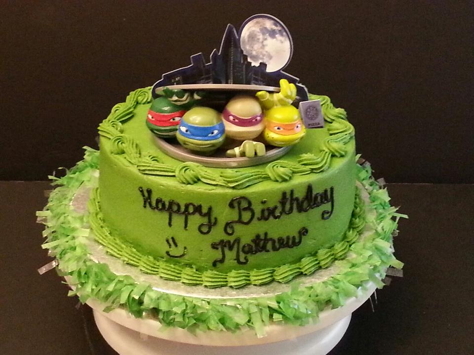 Ninja Turtle Cakes Decoration Ideas Little Birthday Cakes