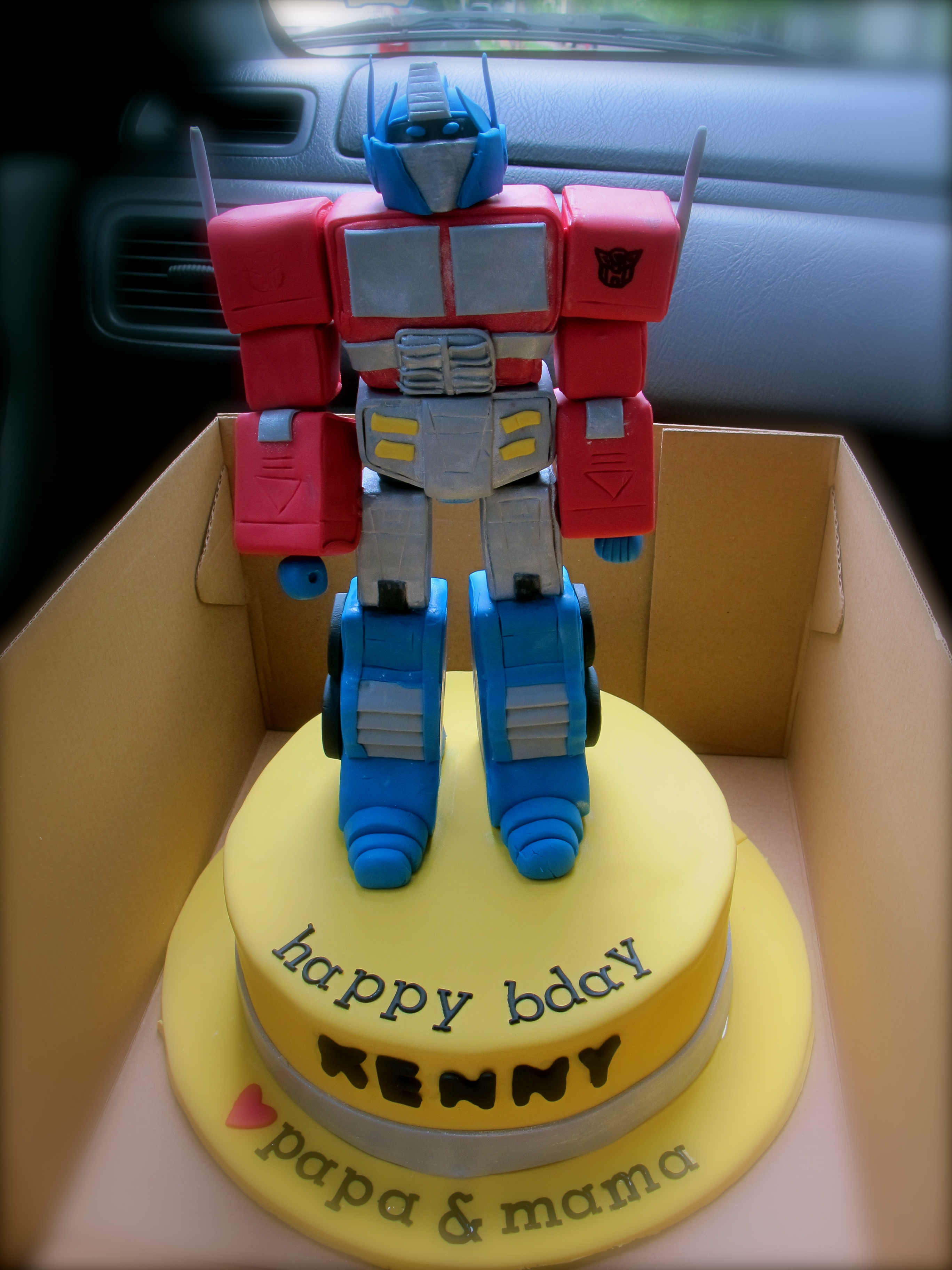 Optimus Prime Cakes Decoration Ideas Little Birthday Cakes