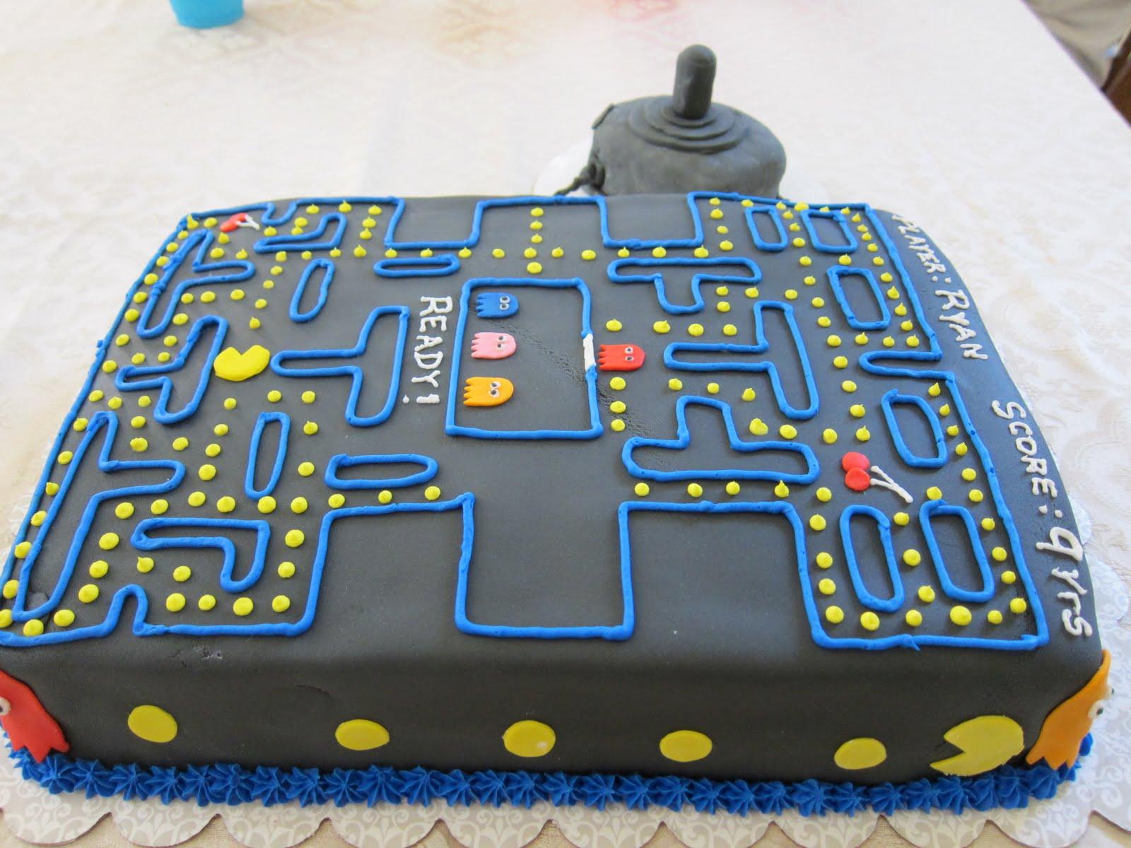 Pics Photos Pacman Cupcake Cake