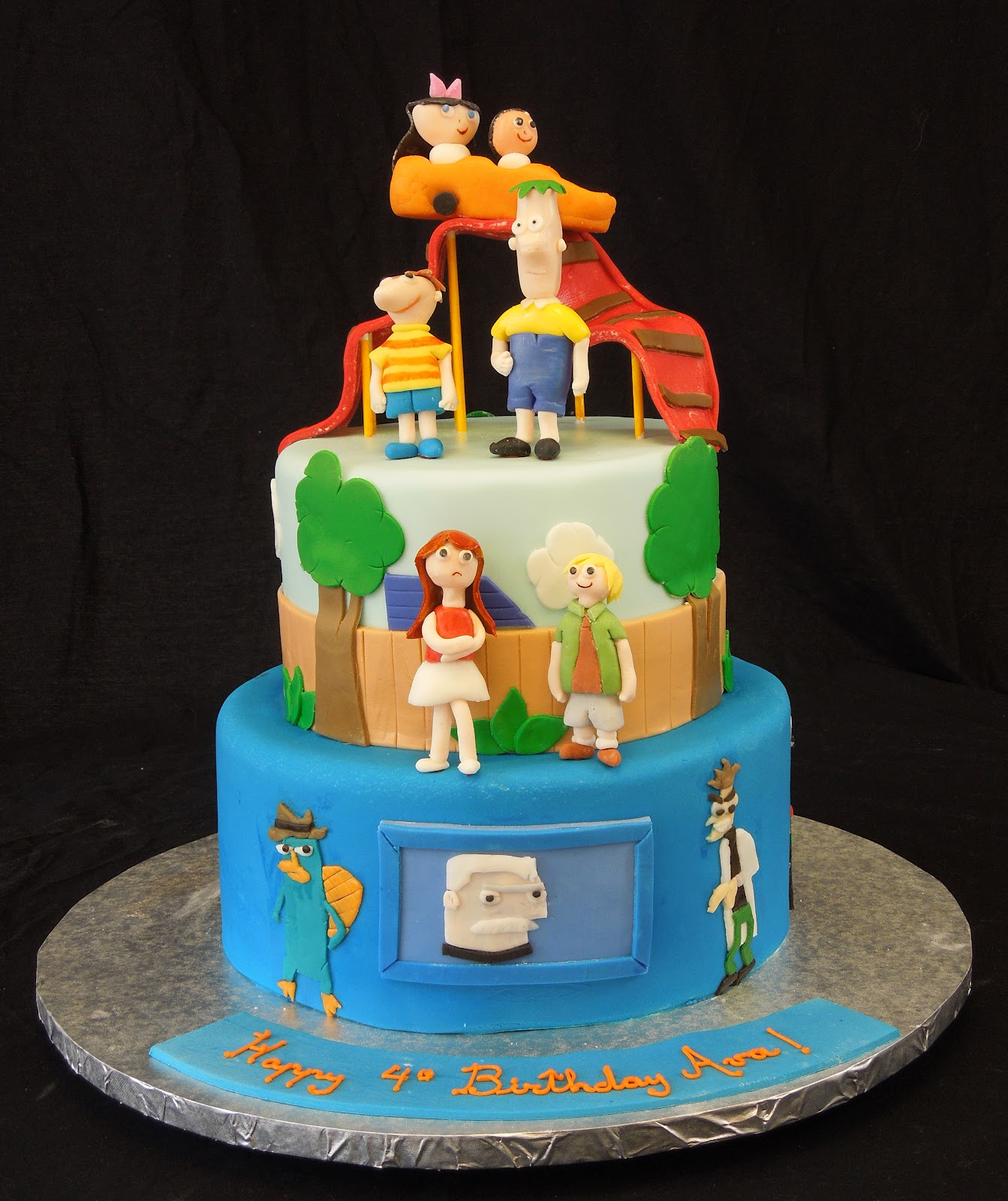 Phineas And Ferb Cakes – Decoration Ideas