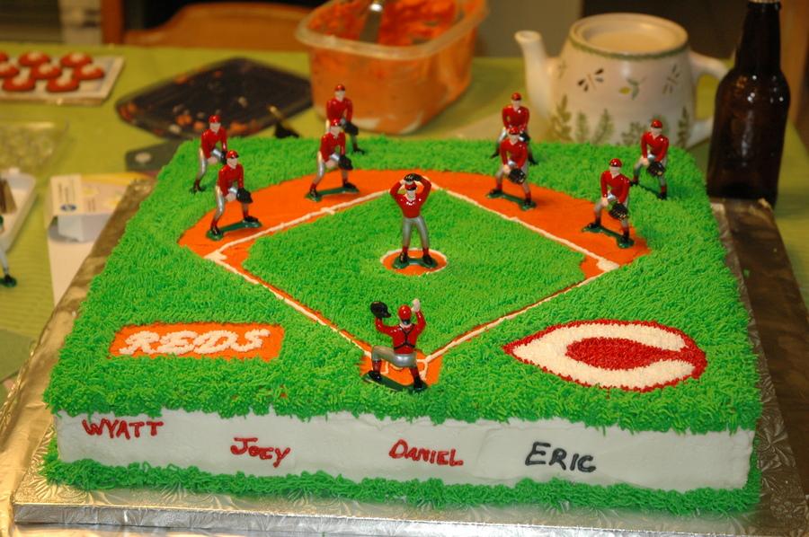 Softball Cake Designs