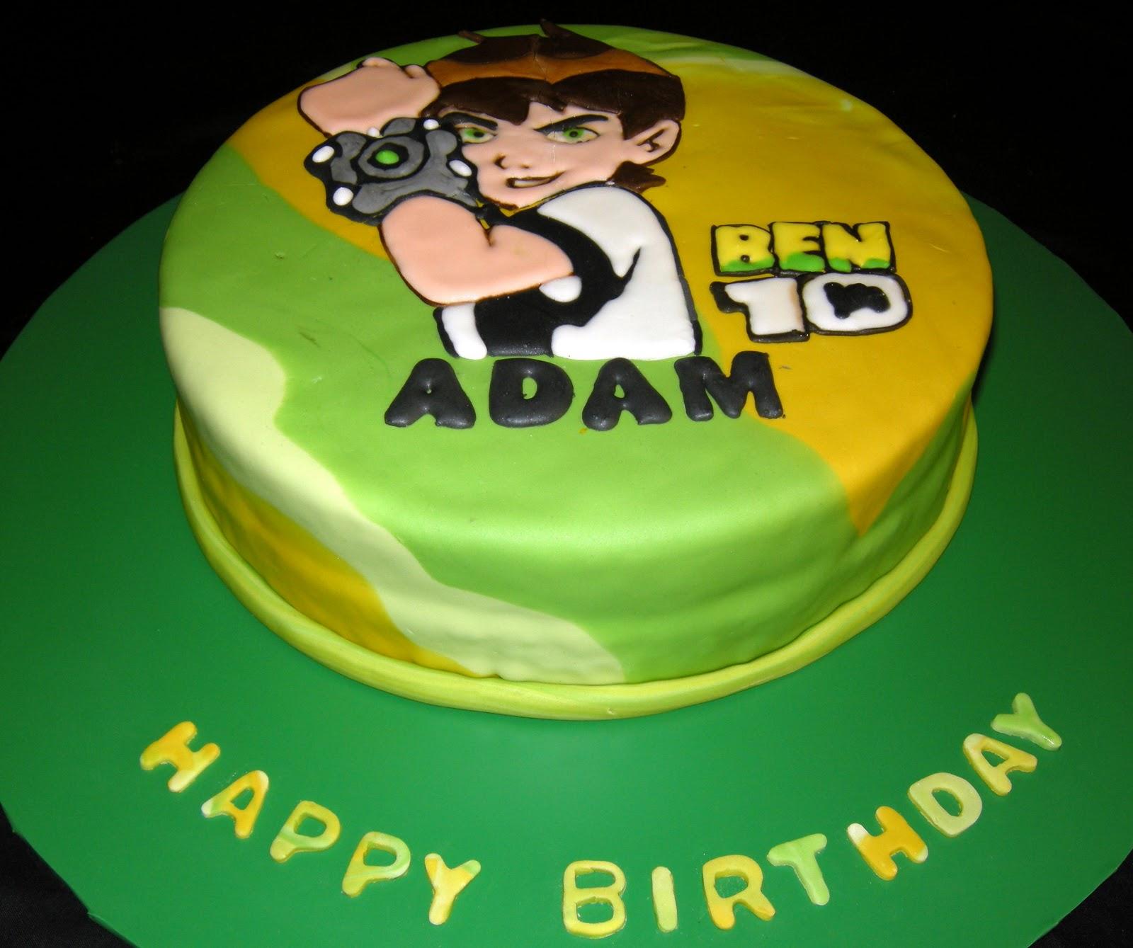Ben  Cake Decorations