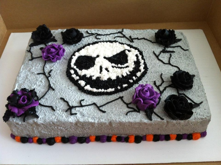 Pictures of Jack Skellington Cakes
