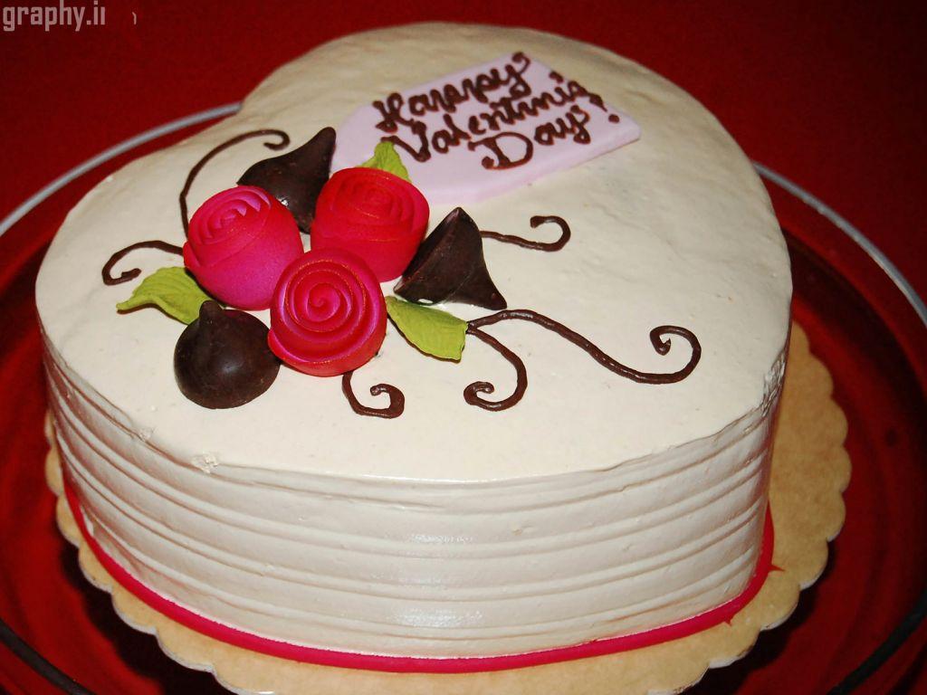 Украшение тортов на день валентина с фото