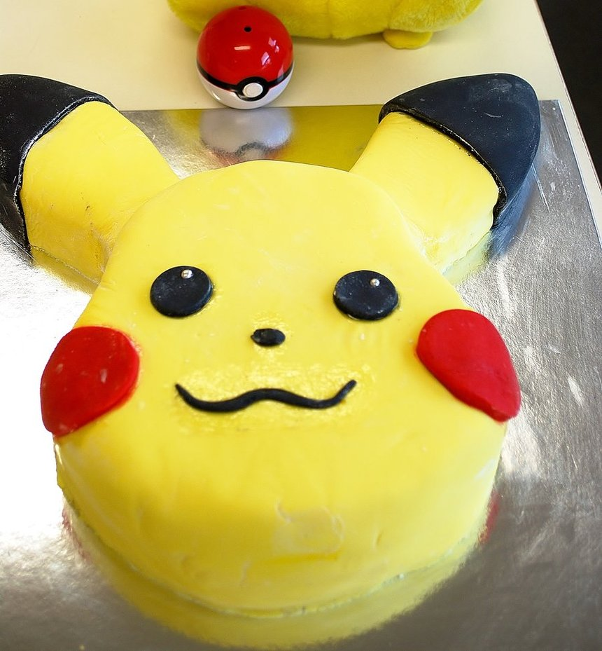 Pokemon Birthday Cake Decorations