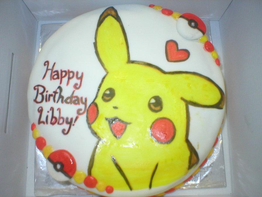 Pikachu Birthday Cake Pikachu Cake