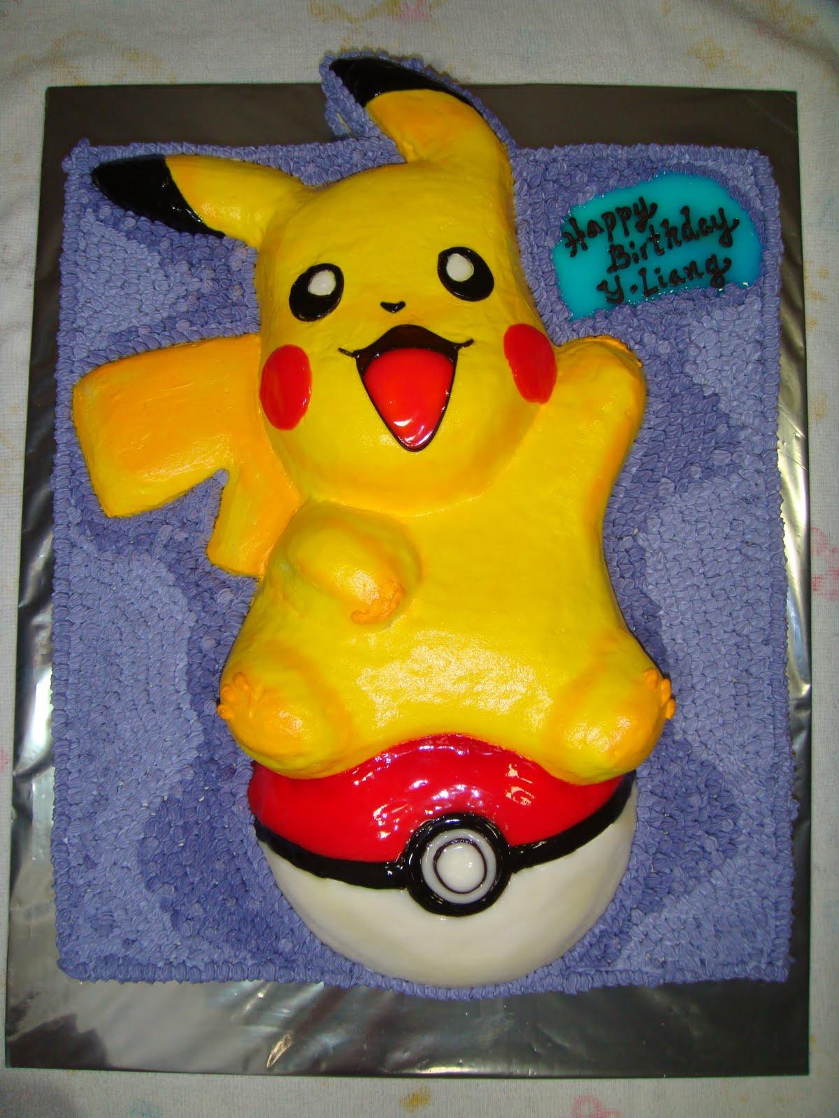 Pikachu Birthday Cake Pikachu Cakes – Deco...