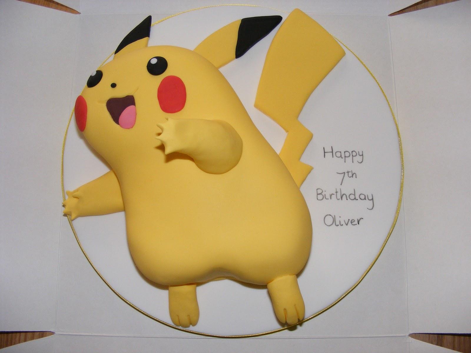 Pikachu Birthday Cake Pikachu Cakes �...