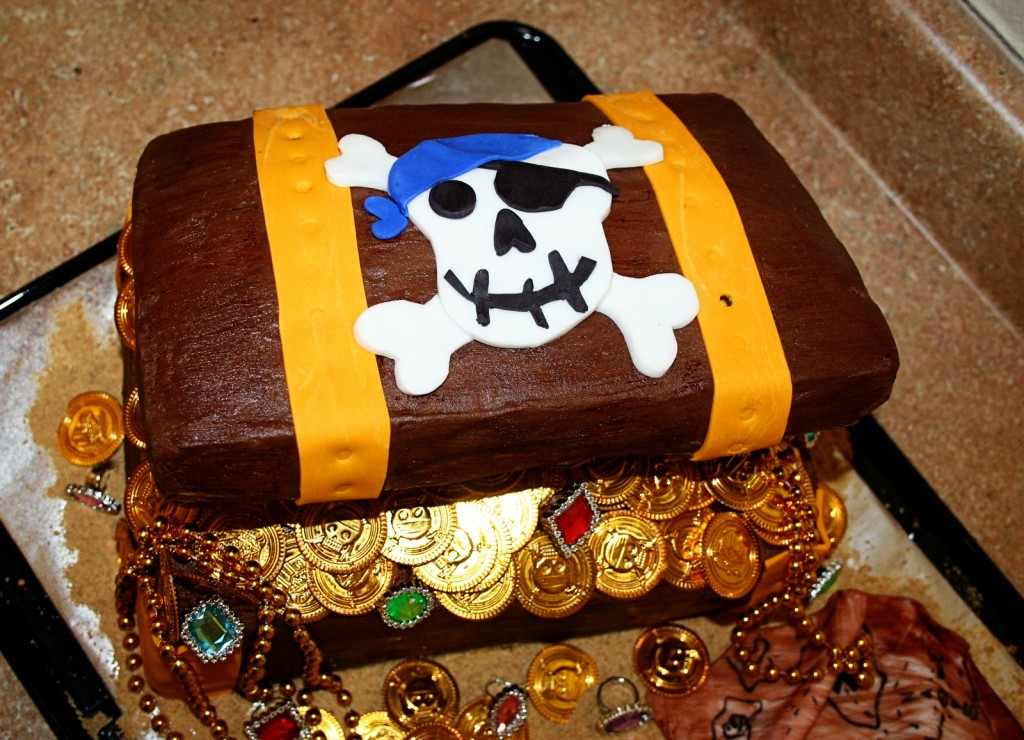 Treasure Chest Cakes Decoration Ideas Little Birthday