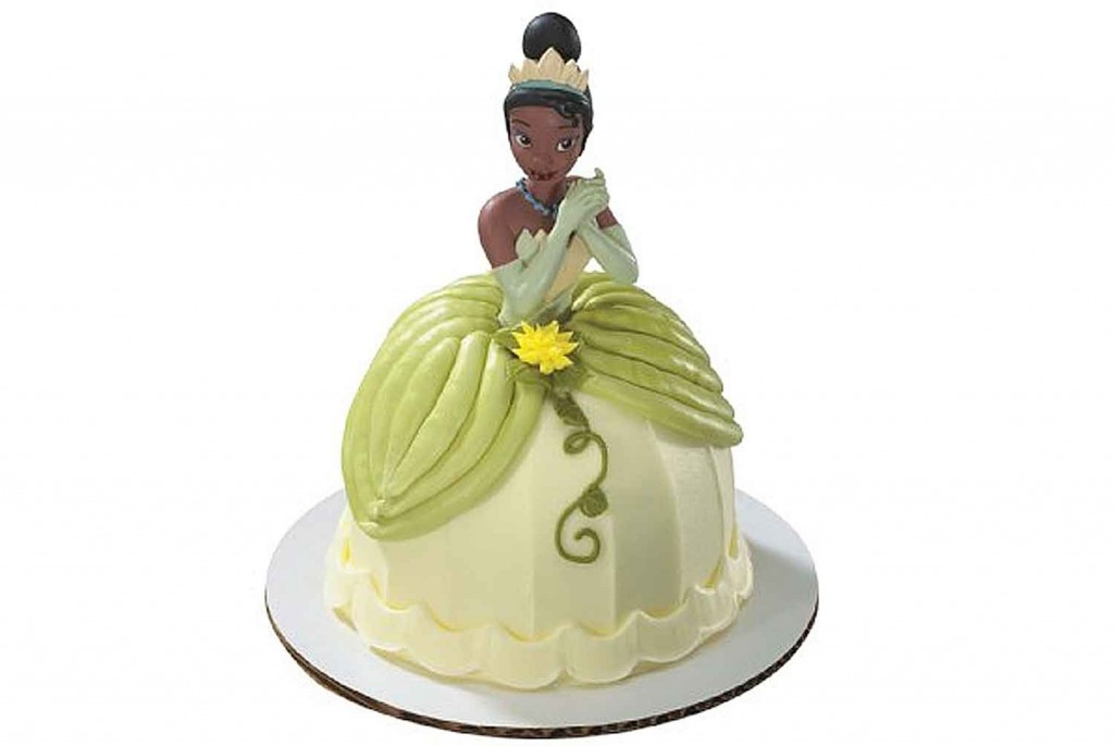 How To Make Princess Tiana Doll Cake
