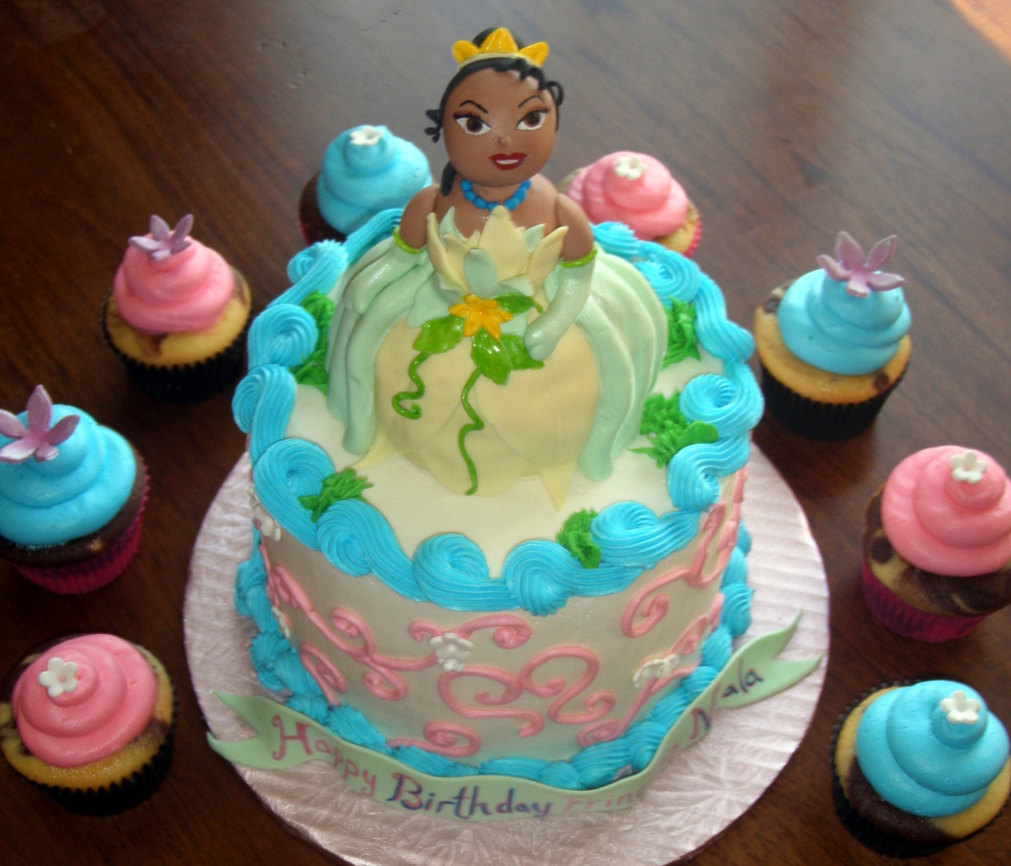 Princess Tiana Cakes Decoration Ideas