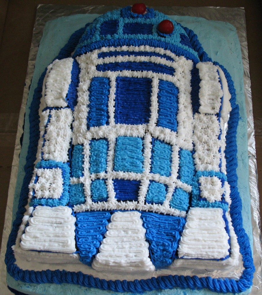 R2d2 Cakes Decoration Ideas Little Birthday Cakes