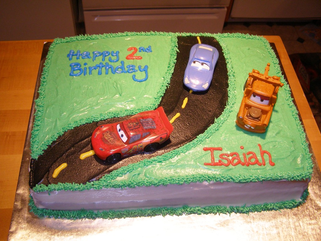 Race Car Cake Decorating Ideas