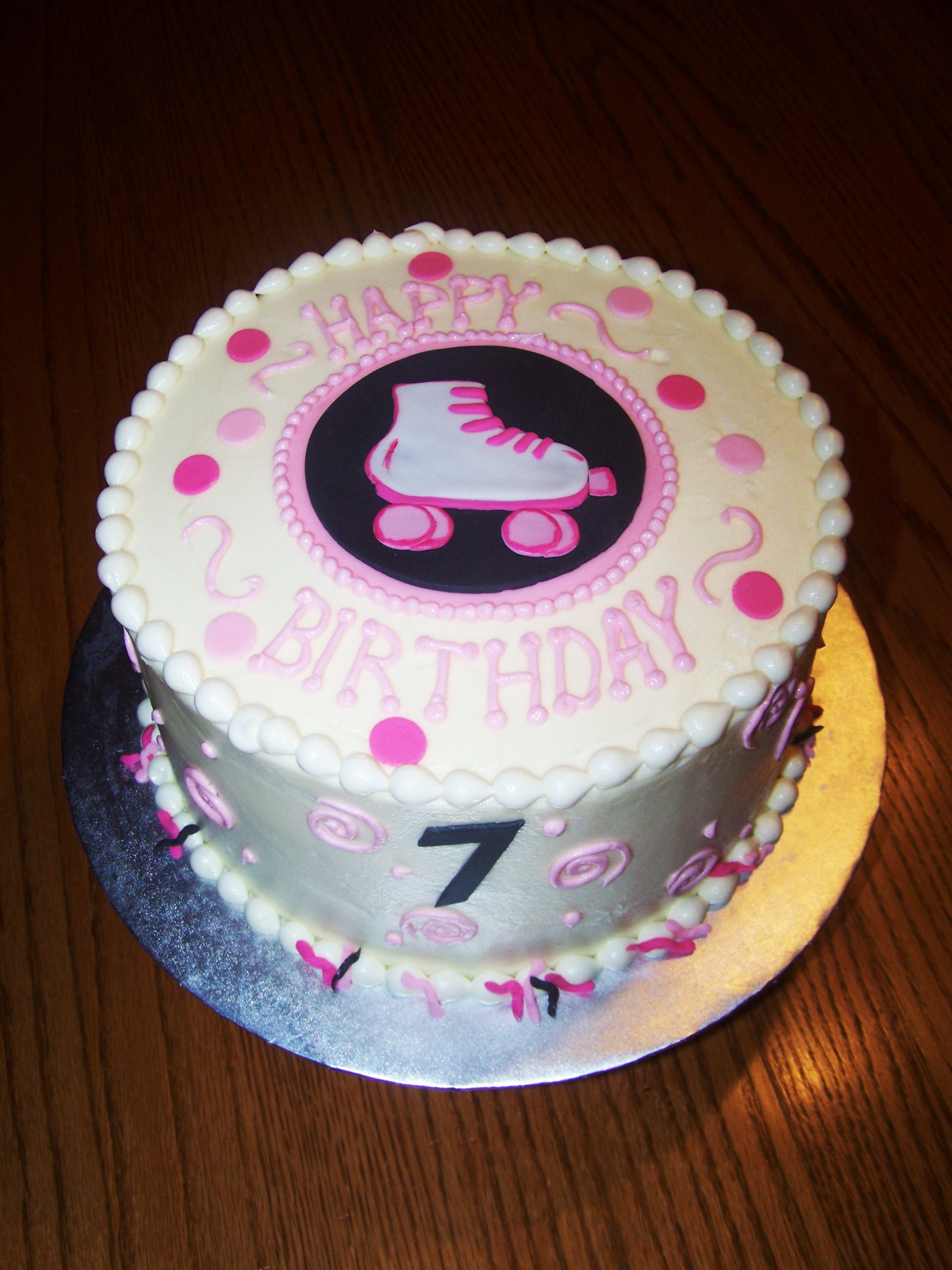 Roller Skate Birthday Cake Ideas