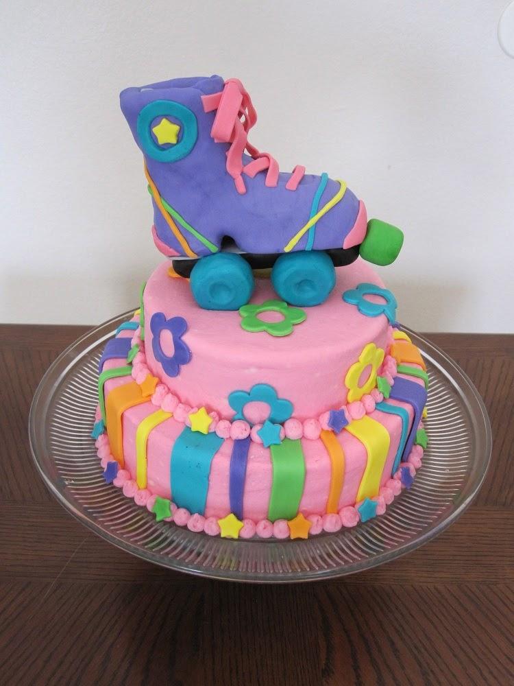 Skate Party Cake Ideas