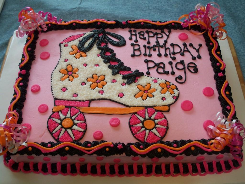 Roller Skate Cakes Decoration Ideas Little Birthday
