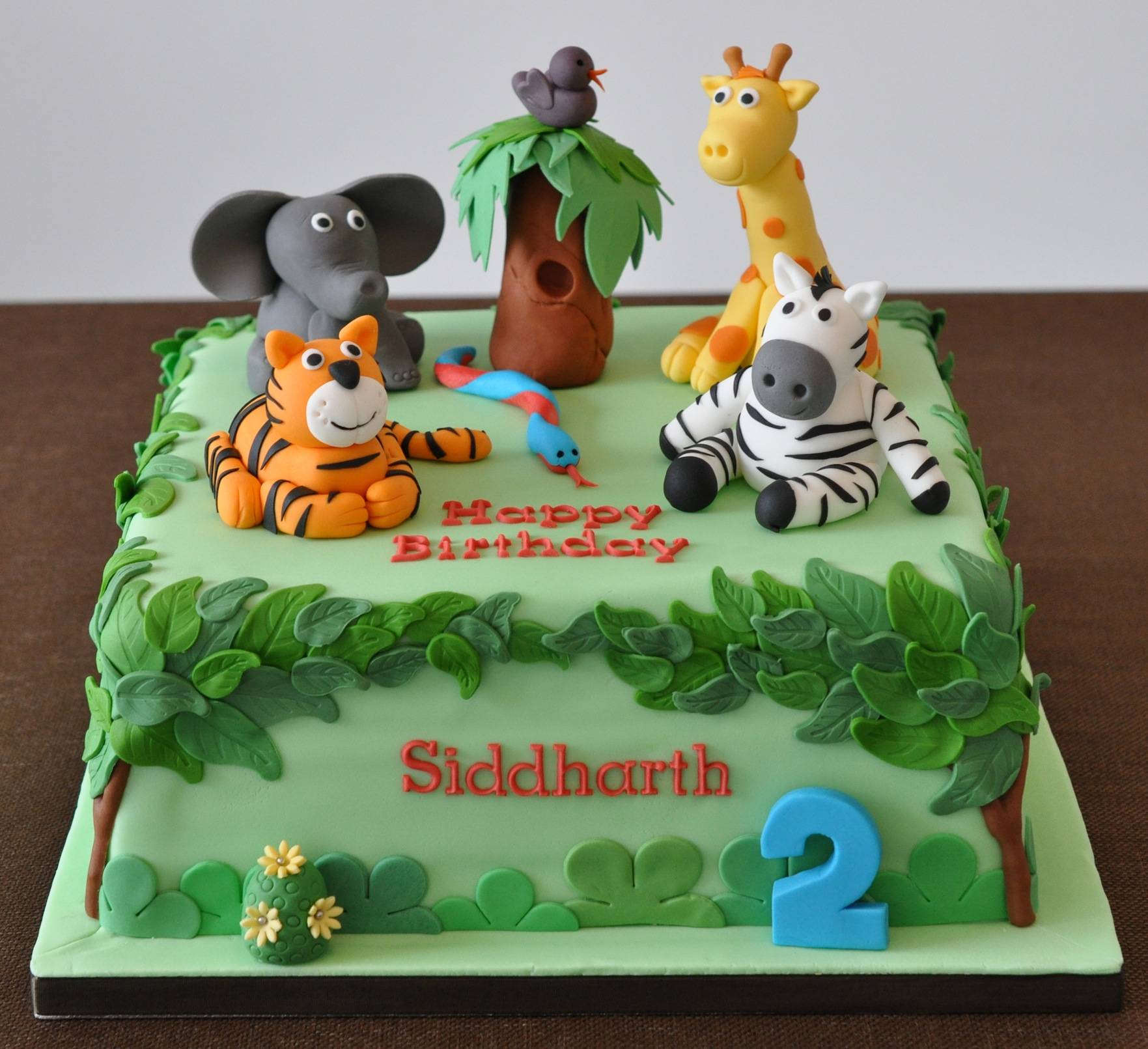 Safari Cakes   Decoration Ideas Little Birthday Cakes