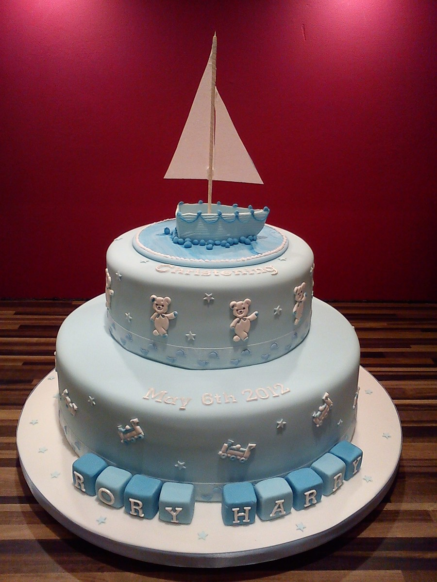 Yacht Theme Wedding Cake