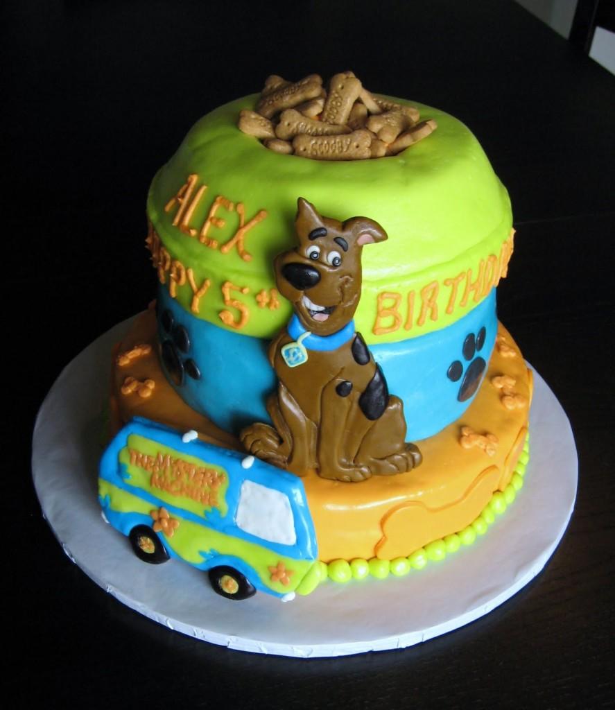 Scooby Doo Birthday Cake Ideas