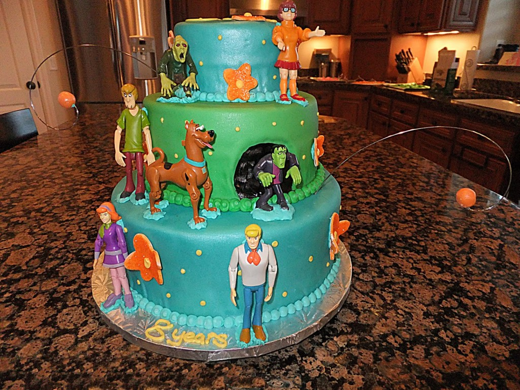Scooby Doo Birthday Cakes