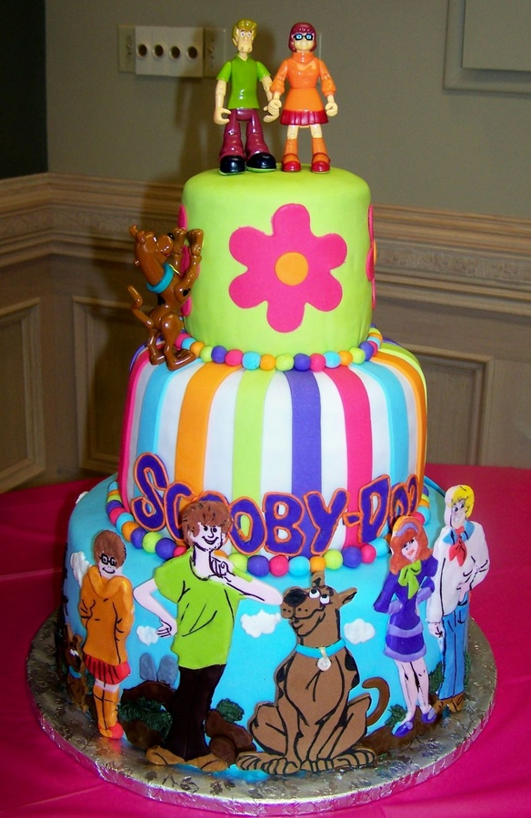 Scooby Doo Birthday Cakes Pictures