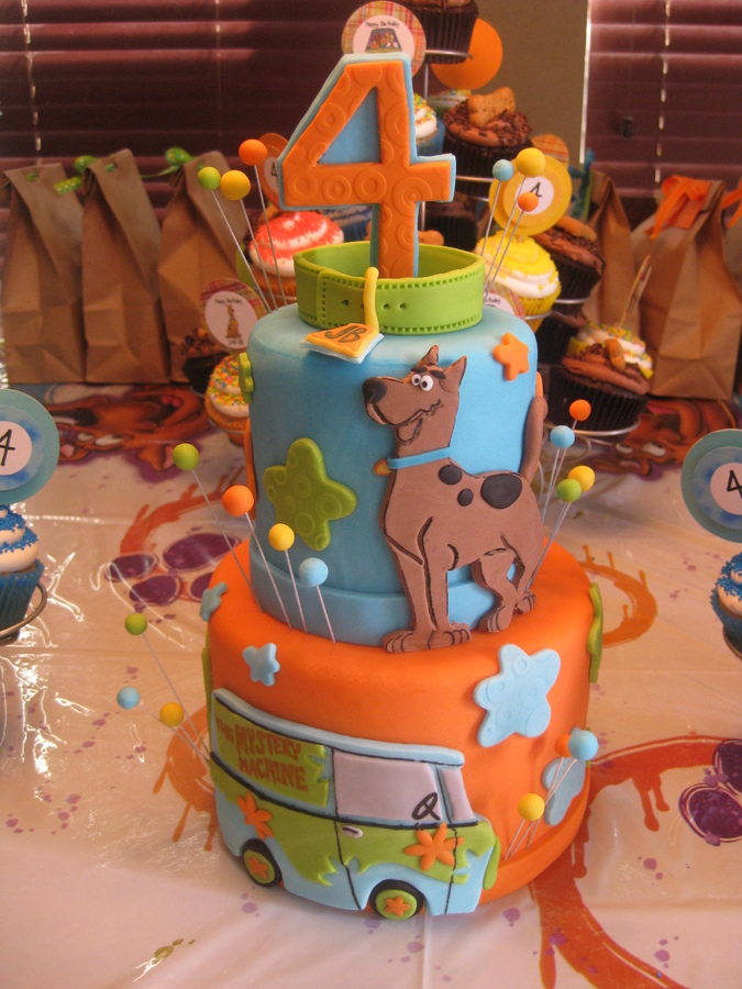 Scooby Doo Cake Designs