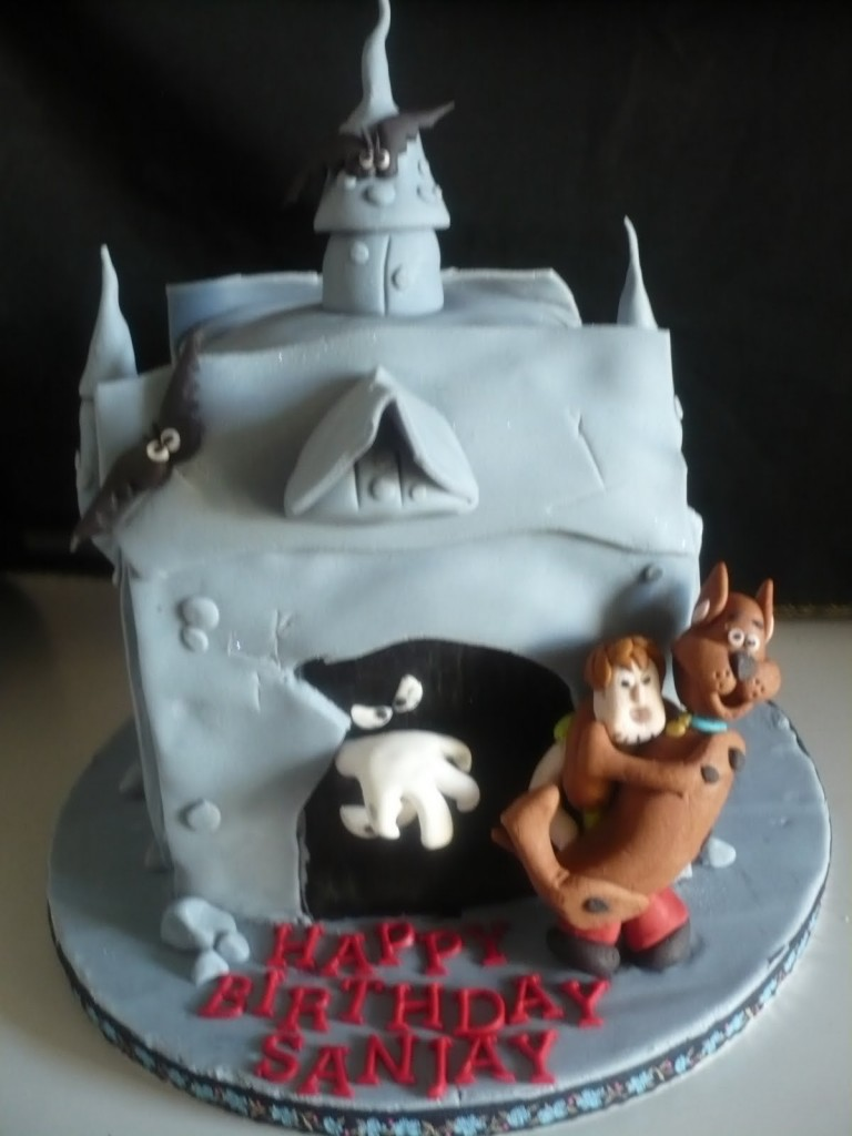 Scooby Doo Cake Photos
