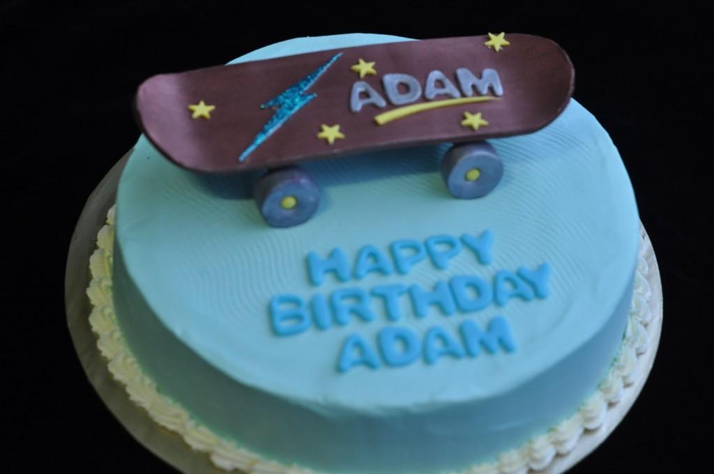 Skateboard Cake Decorations
