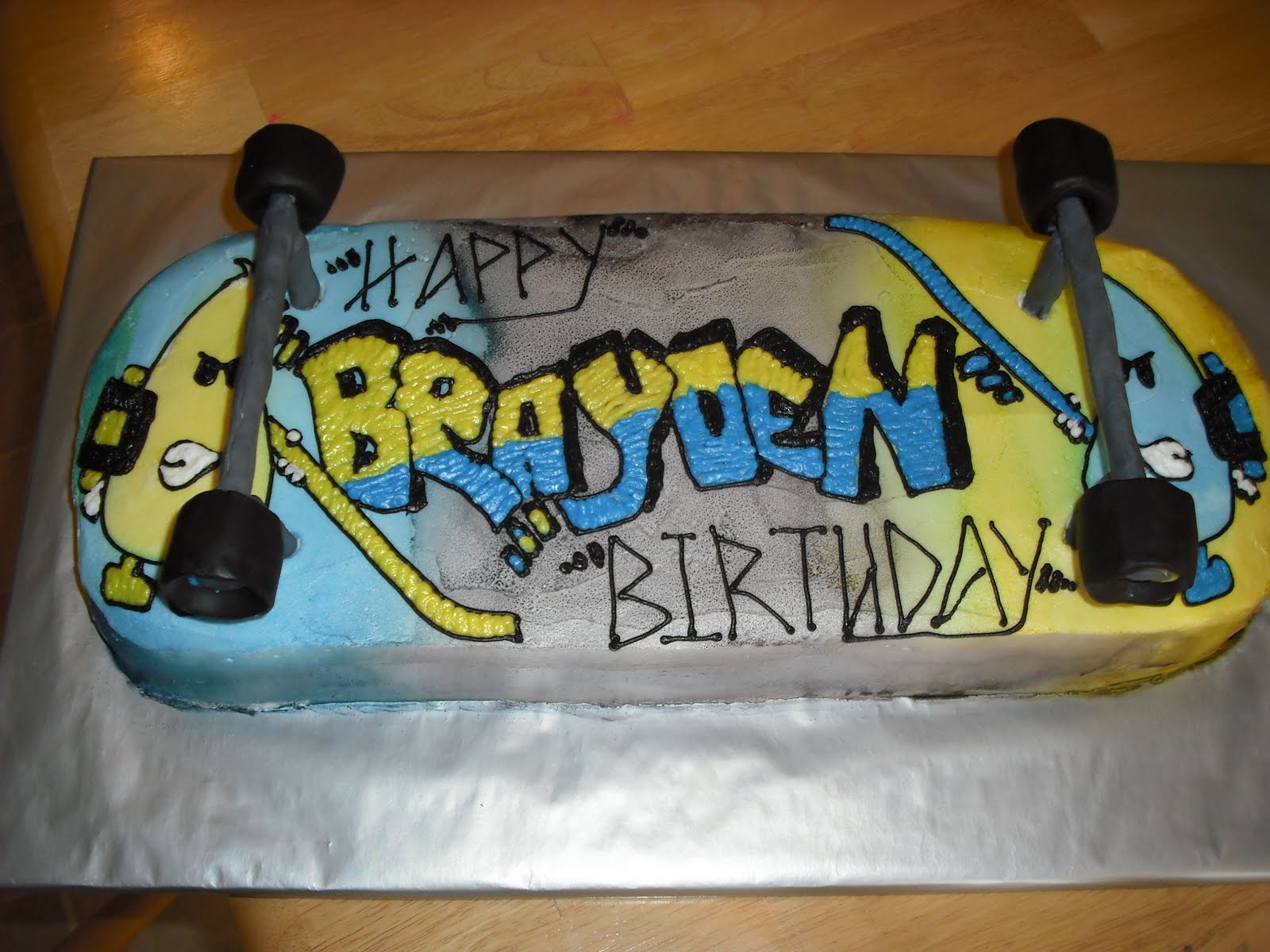 Skateboard Cakes Decoration Ideas Little Birthday Cakes