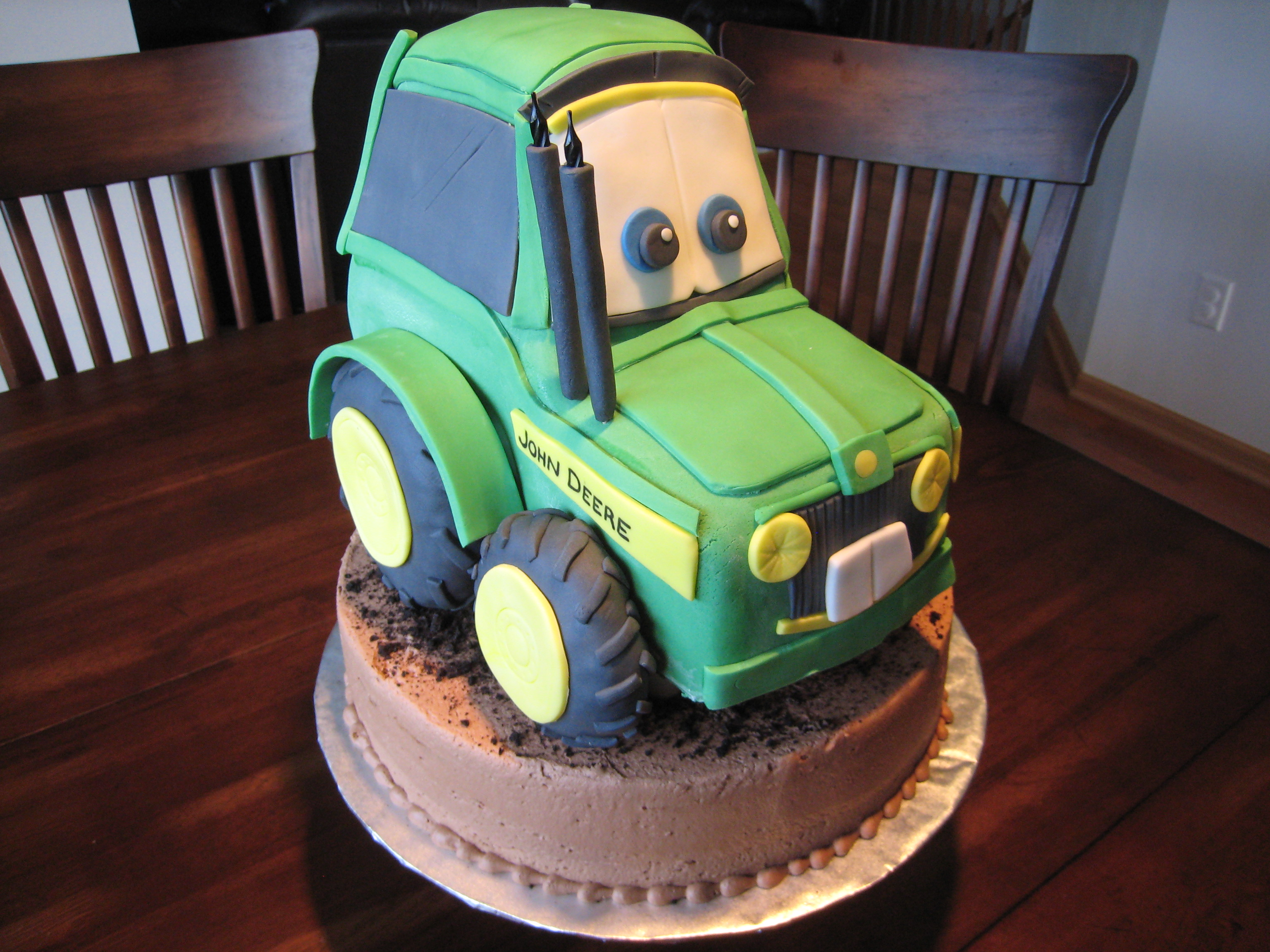 Images Of Tractor Birthday Cake : Tractor Cakes   Decoration Ideas Little Birthday Cakes