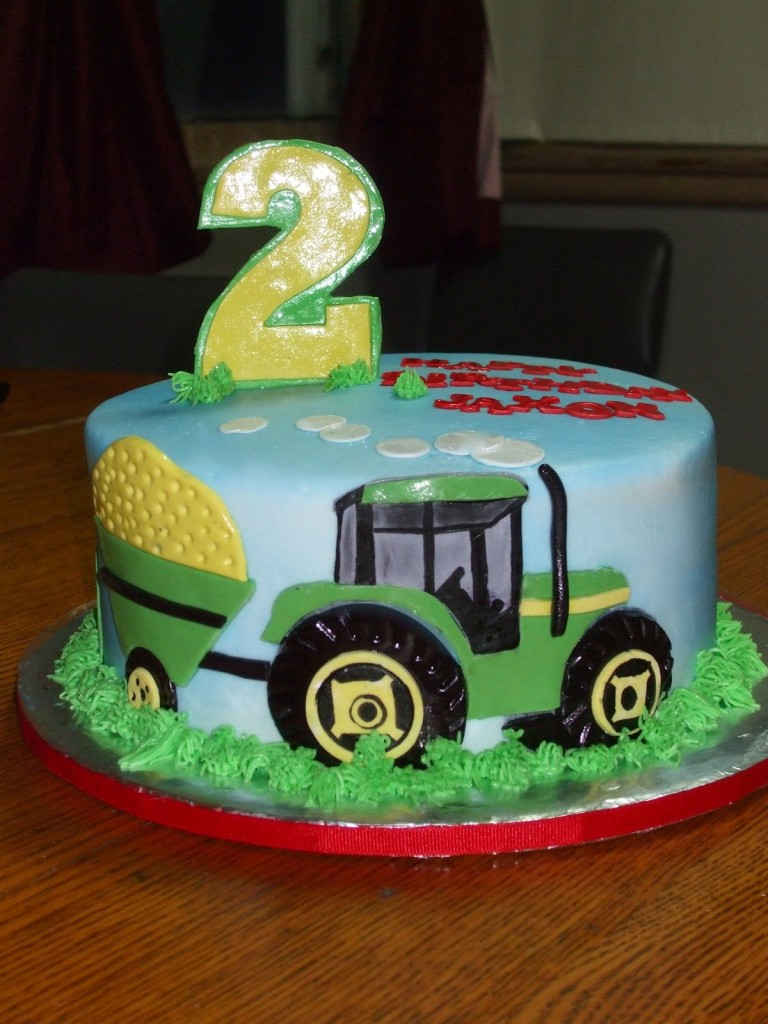 Tractor Cakes Decoration Ideas Little Birthday Cakes