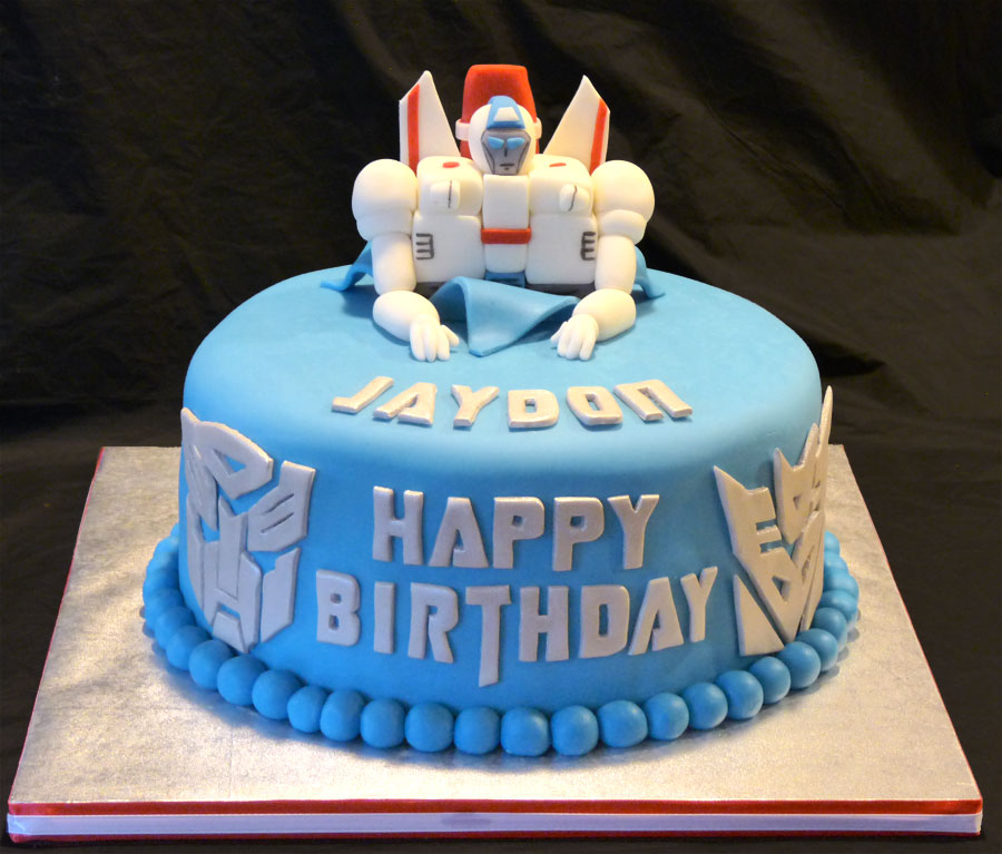 Decoration Of Birthday Cake : Transformer Cakes   Decoration Ideas Little Birthday Cakes