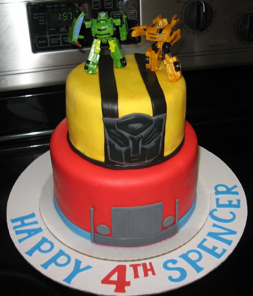 Bumblebee Transformer Cake Ideas