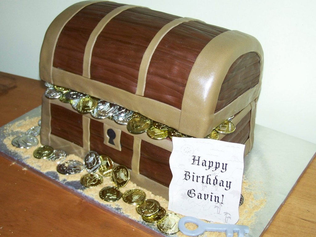 Treasure Chest Cakes Decoration Ideas Little Birthday