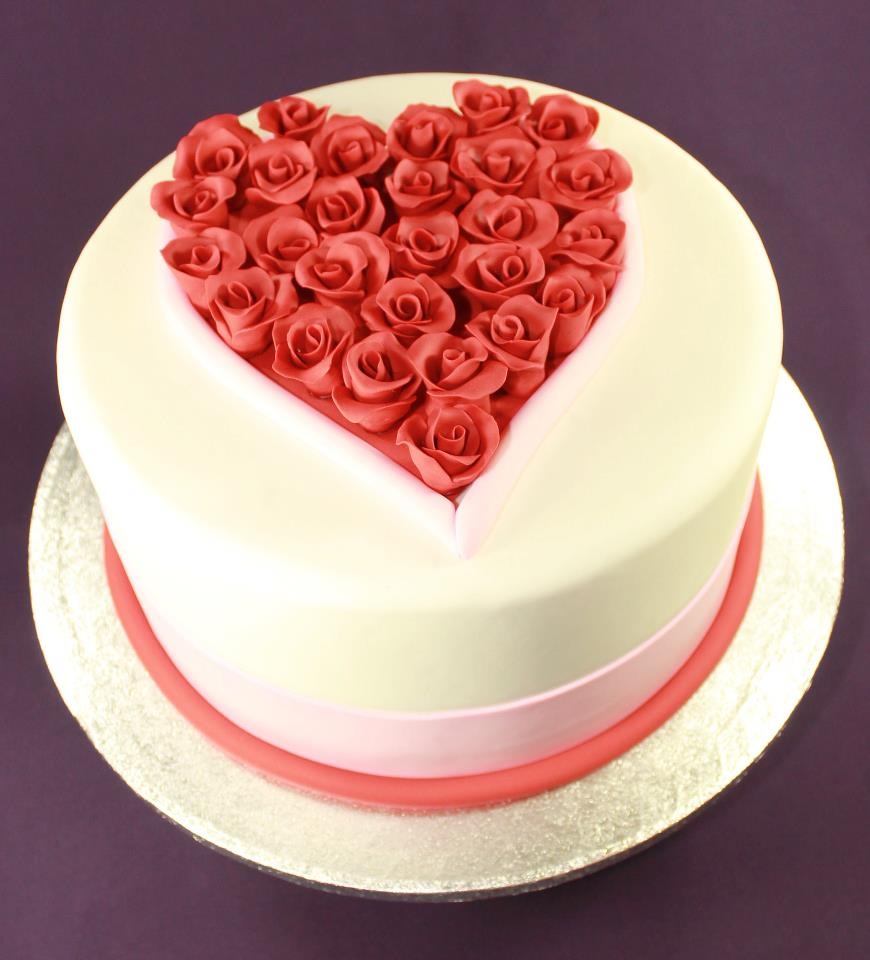 Valentine Cake Decorations Design : Valentines Cakes   Decoration Ideas Little Birthday Cakes