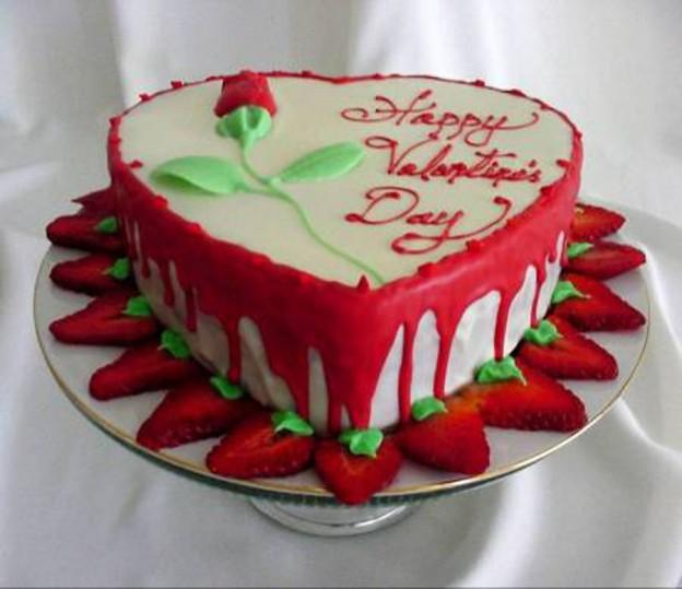 Украсить торт любимому своими руками 46