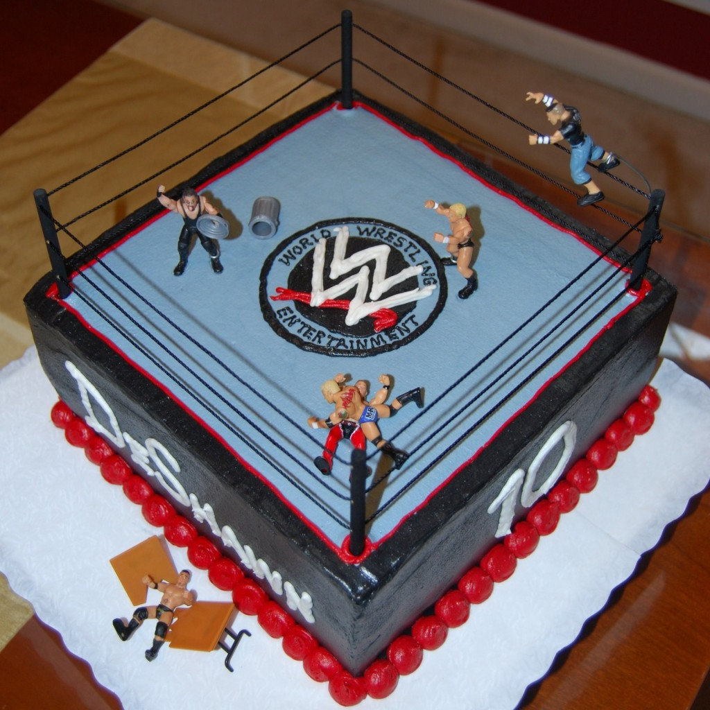 Wwe Cake Ideas